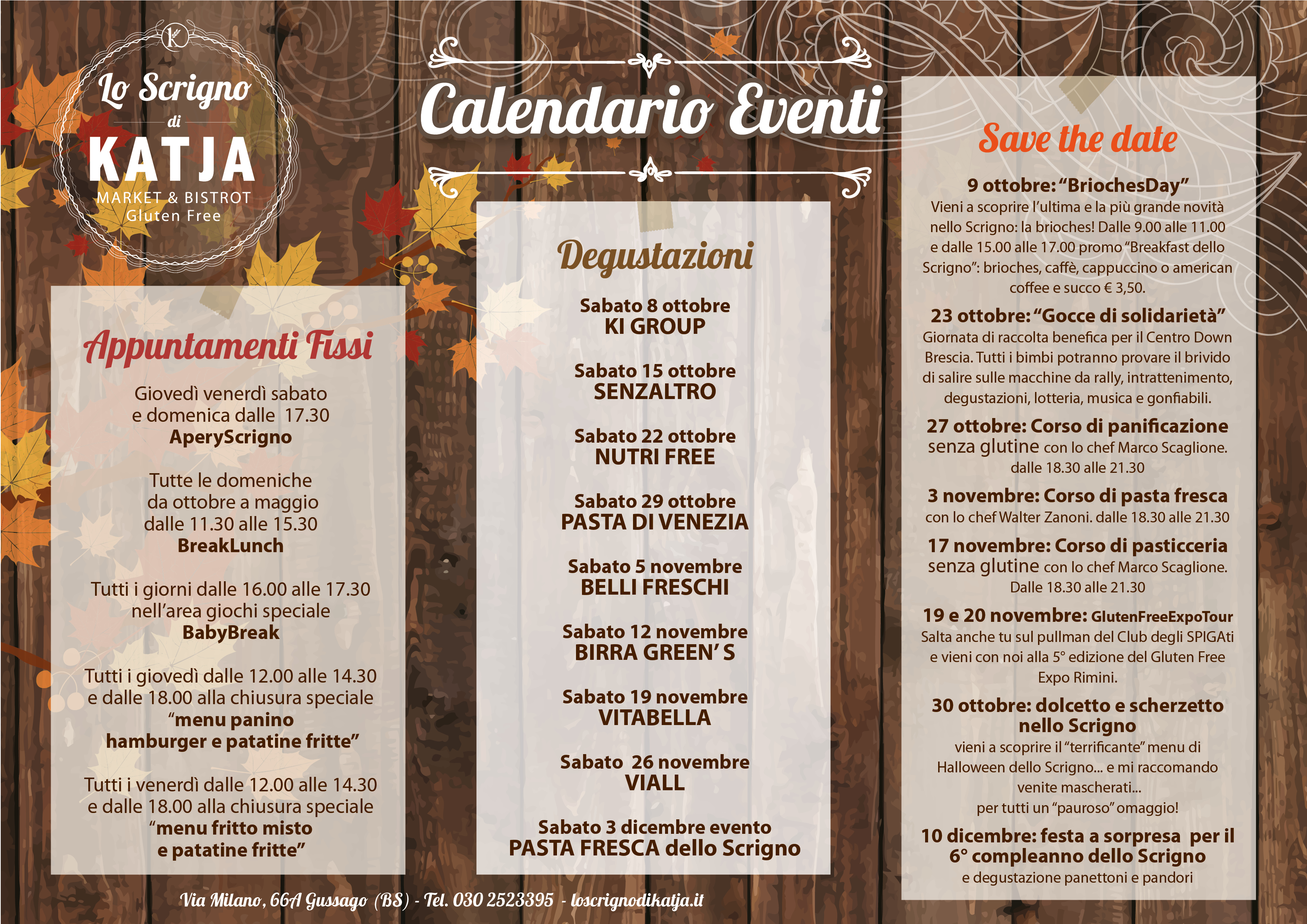 Calendario Eventi.Lo Scrigno Di Katja Calendario Eventi Lo Scrigno Di Katja